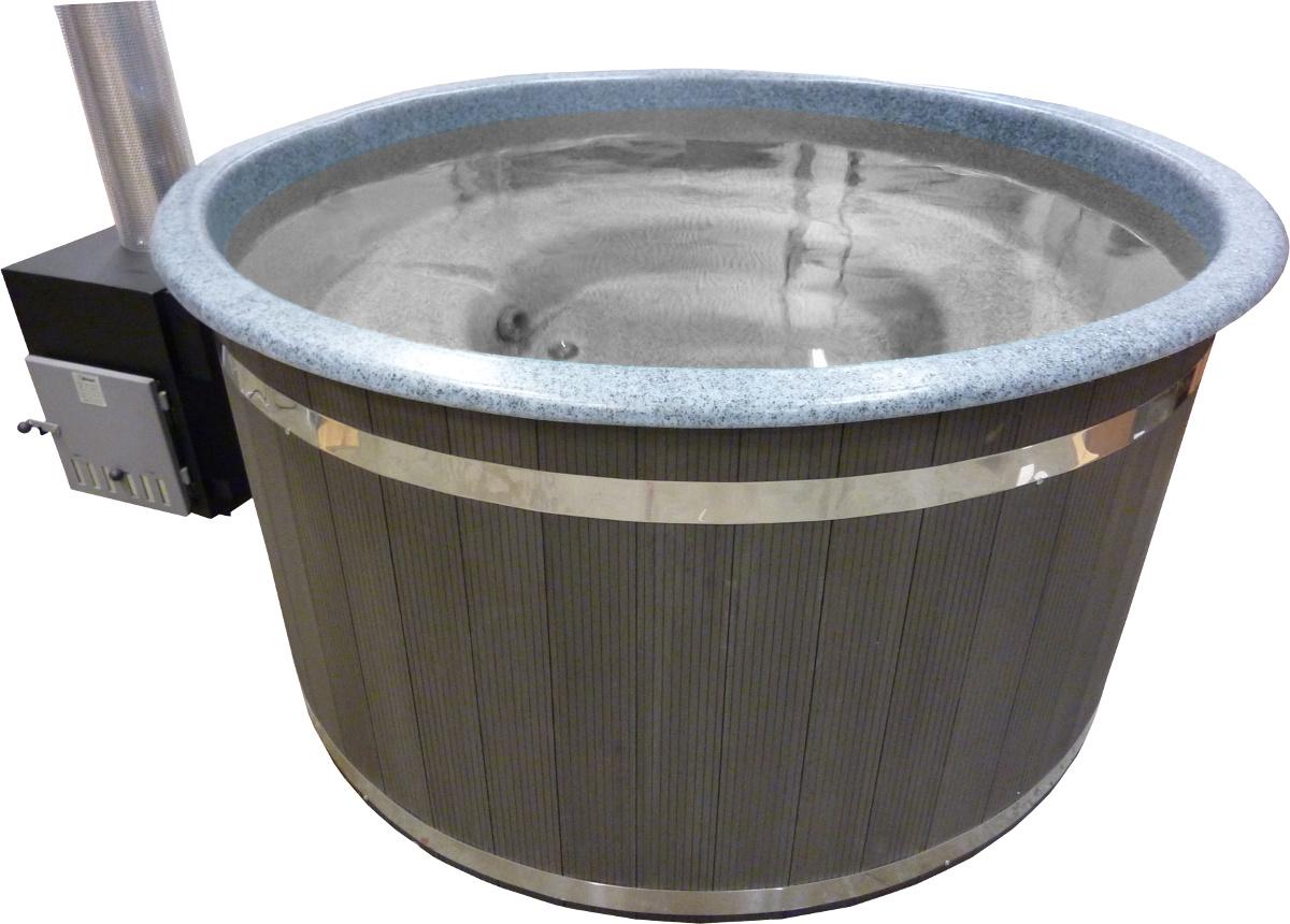 P1090465 badtunna av plast Harmony granitmelerad med grafitgrå ytterpanel.jpg