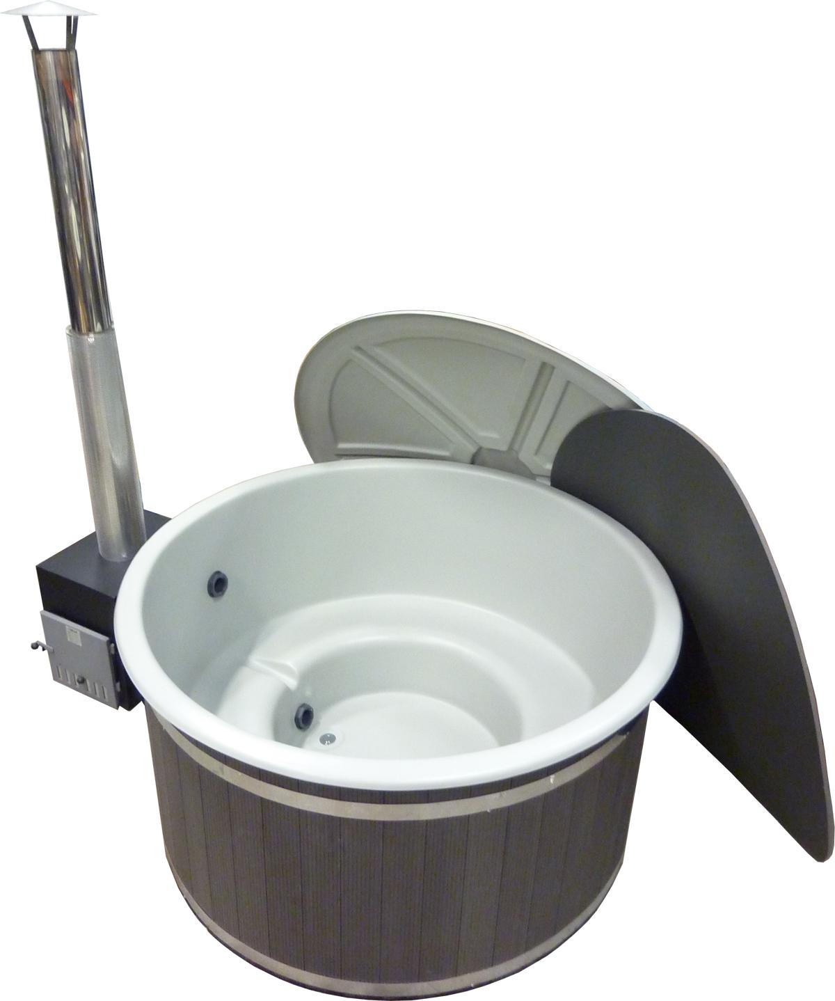 Harmony grå med lock & Side-maxi & Grafit gråytterpanel.