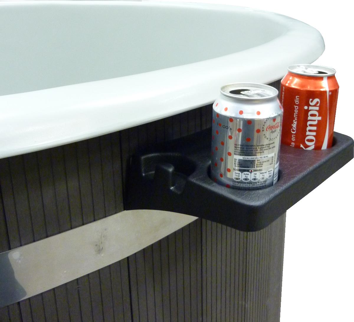 Dryckhållare till badtunna