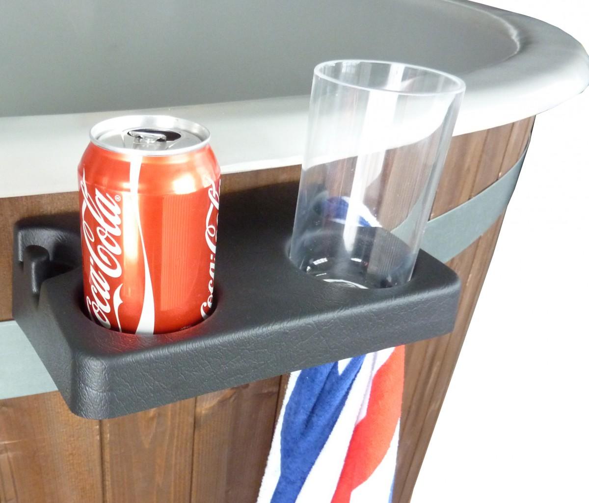 Dryckeshållare till badtunna