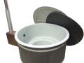 P1090703 grå badtunna Harmony med Graphite ytterpanel & Side-Easy vedkamin.jpg